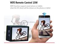 WiFi function 1080p fhd 30fps burst shot H.264 mini time lapse sport dv action camera