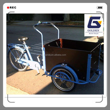 2016 leisure Holland family bakfiets electric cargo bike manufacturer china tricycle