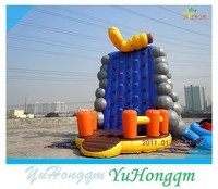 LOVELY Inflatable climbing walls WITH Grapes Decoration
