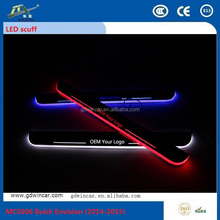 China Wholesale Factory Supply Stainless Steel Door Sill OEM Scuff Plate For Honda CRV 2012-2015, Flashing LED Scuff