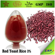 BNP supplier GMP ISO Kosher Monacolin-k or lovastatin red yeast rice powder extract