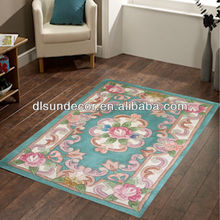 wool pile chinese handmade carpets and rugs