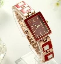 Good Looking fashion 2015 women's watch trend all-match square bracelet watch movement quartz watch 2015