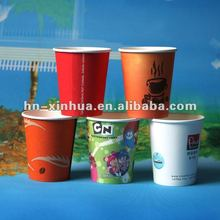 hot paper coffee cups (8oz & 12oz)