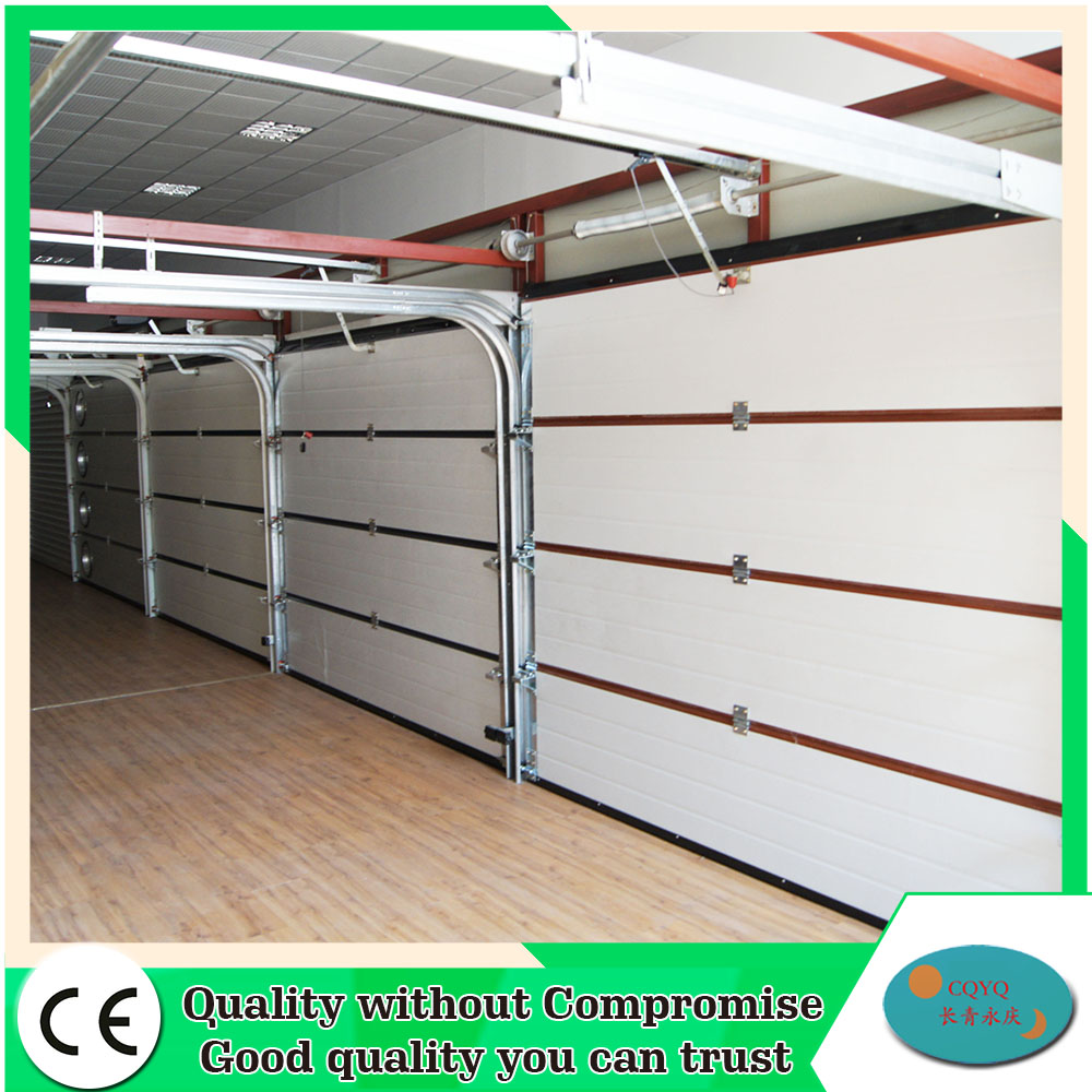 Sectional Garage Door Construction Details : Overhead finger protection sectional garage doors design