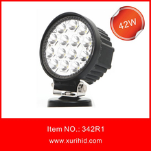 4 inch 12/24V Driving On truck, Jeep, Atv, 4WD, Boat, Mining Led Driving Light, 42w Led Work Light