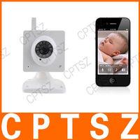 Wireless N-vision H.264 Plug and Play IP Camera Baby Monitor Support 32GB TF Card (110V-240V)
