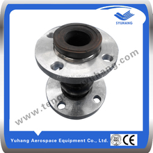 dual-ball rubber expansion joint with flange