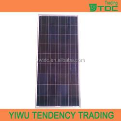 pv solar panel price 100w poly solar panel