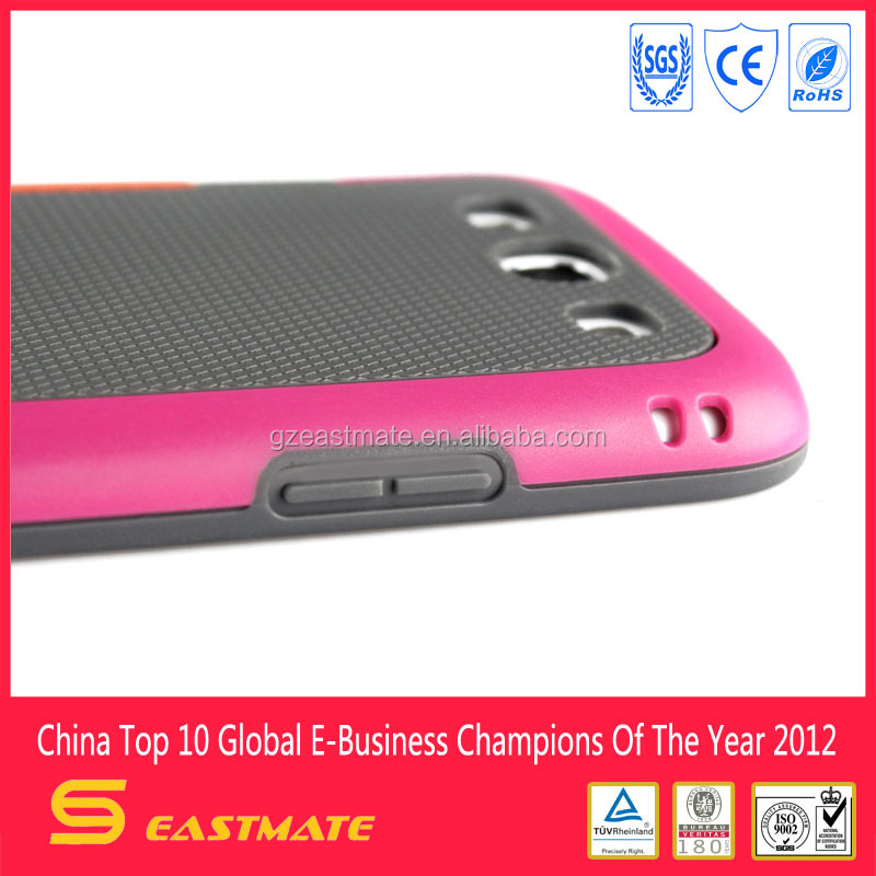 Korea multi-color tpu pc case for samsung galaxy s3 , Waterproof Case For iphone/for samsung etc mobile phone