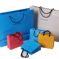 Custom factory made cheap promotion paper shopping bags