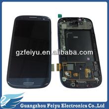 Mobile phone for samsung galaxy s3/i9300 original lcd screen digitizer
