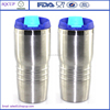 high grade polish shinning double wall 450ml heat insulation stainless steel vacuum auto mugs/thermos travel vacuum bottle