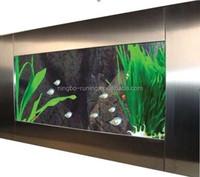 Stainless steel CE/ROSH/UL AQUARIUMS/AQUARIUM TANK/WALL AQUARIUMS FOR SALE