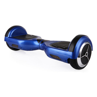 two wheels self balancing electric scooter 6.5 inch BLUE motor 350*2 high quality mother board and battery Customized LOGO