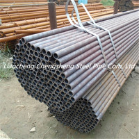China manufacture black seamless steel pipe gas and oil mild steel pipe A106