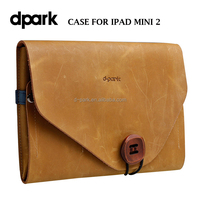 Genuine leather cover bag for Apple iPad Mini 2 Tablet Covers Cases Manufacturer