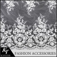 New product in China french african cord chemical guangzhou lace fabric