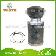 """4"""" hidropónicos del ventilador de escape de aire combinado y sistema de ventilación"""