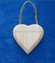 2014 newest fashion unique hot sales China items home decorative heart crafts ornament wholesale handmade art minds wood crafts
