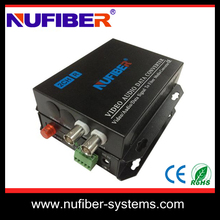 2 Channels analog CCTV camera video converter