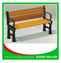2015 popular park bench design Chinese manufacturer Outdoor Garden Chair Cast Iron And Wood Garden Bench Cast Iron Garden Chair