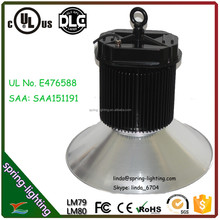 promotion price of 150w SAA UL DLC listed industrial led high bay lights