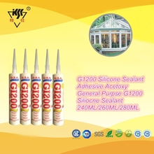 Acetic general purpose silicone sealant for main application of glass and windows