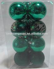 7 cm nueva serie de colores de navidad bola, decorado bola bola navidad