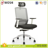 Noble high back executive adjustable office armchair /lifting swivel mesh office chair with wheels