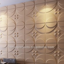 new decorative 3d embossed wall panel