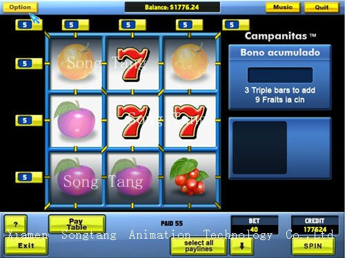 online casino games software