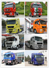 Chine 380hp heavy duty camion Iveco Hongyan 6 x 4 camions de la tête de la remorque prix