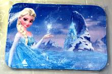 100% Polyester Frozen Queen Elsa Anna Floor Carpets,Door Mat