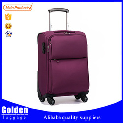 China Baigou large size luggage bag stable and waterproof travel luggage inside trolley luggage