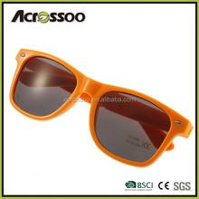 Cheap plastic sunglasses orange promo sunglasses
