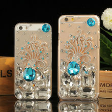 For iPhone Diamond Cover,Lovely Octopus Luxury Rhiestone Crystal Bling for iPhone 6 Case