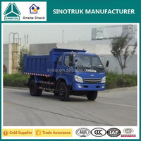 China Manufacturer Small Dump Truck 10 Ton Capacity Truck for Sale