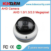Kendom Weatherproof IP66 & Vandalproof AHD Camera CCTV Dome Camera for Outdoor Use 2MP