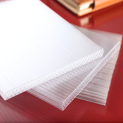 Roof sheets price per sheet /polycarbonate sheet/panel solar/ - triple walls,three layer, x lite, honeycomb sheet