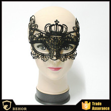 Cool mask Lace Halloween mask Europe and the United States sexy appeal mask adult type mask