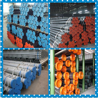 API 5L Grade B Seamless carbon steel hot rolled pipe tube for gas/oil transportation