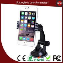 Gadget 2015 smart rubber suction cup accesories cellphones car windshield mount car mobile holder