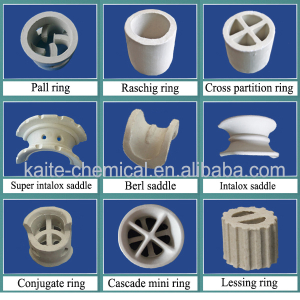 1 In Ceramic Rasching Rings Pall Ring Rasching Ring