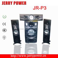 JR-P3 Factory supply 3.1 hifi speaker/ multimedia speaker with mic input/ bluetooth bluetooth speaker