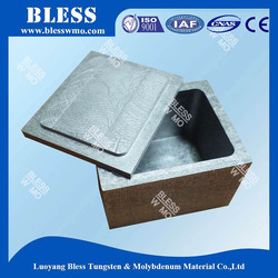 China manufacturer spinning tungsten crucible with Top Grade