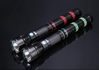 F41 Rechargeable Aluminium Led Flashlight Outdoor hunting knife with led light torch