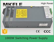 SCN-1000-12 universal 1000w 12v single output regulator led switching power supply