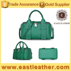 GL699 new products 2016 genuine leather trendy women tote bag
