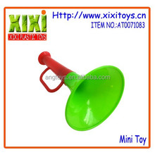 Bright color horn for kids plastic toy trumpet
